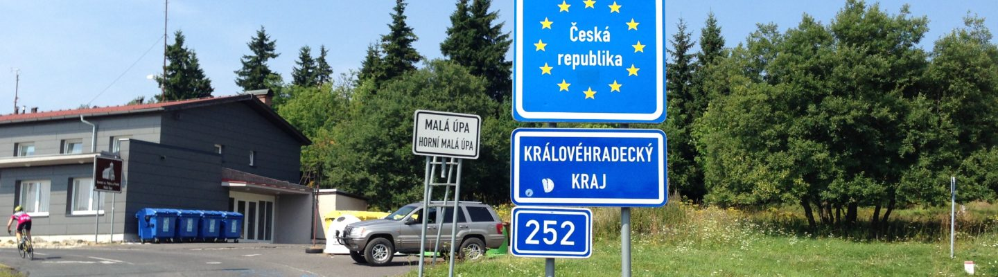 Czech border from Poland