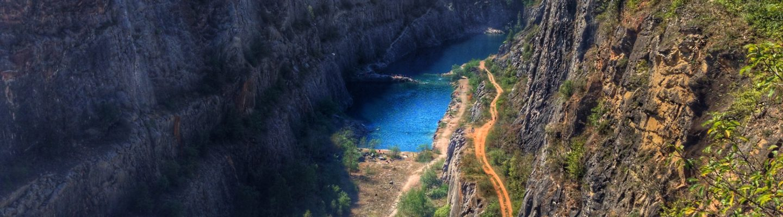 Velka Amerika, Czech Grand Canyon