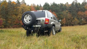 Metalpasja rear bumper Jeep WJ