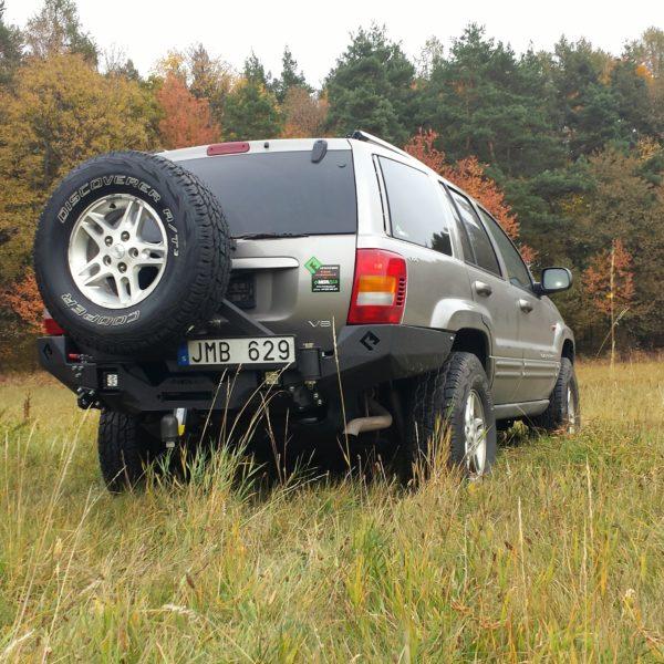 Metalpasja rear bumper Jeep WJ