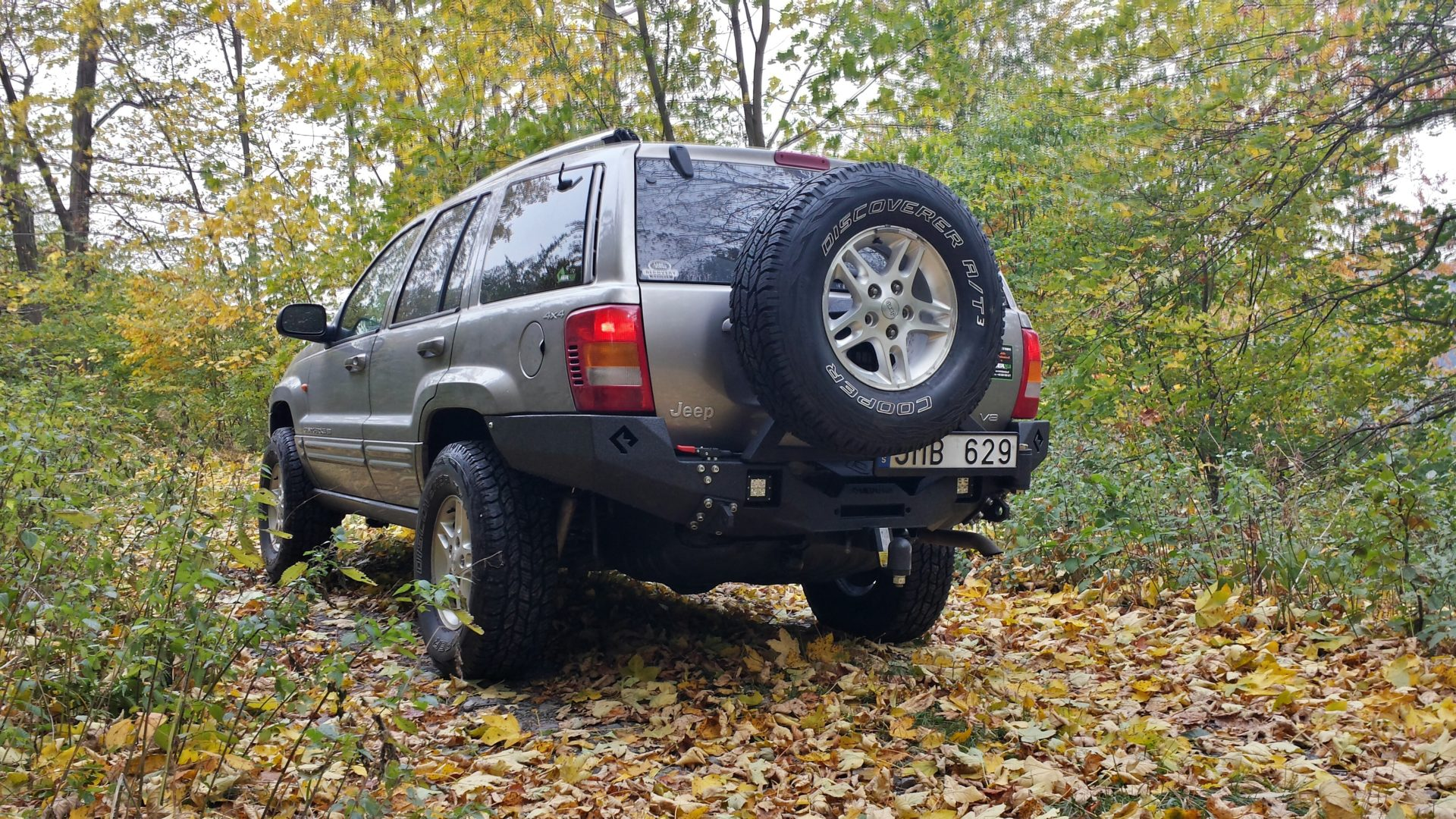 Jeep WJ with Metalpasja rear bumper