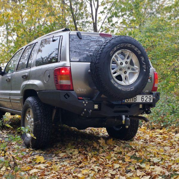 Jeep WJ with Metalpasja rear bumper