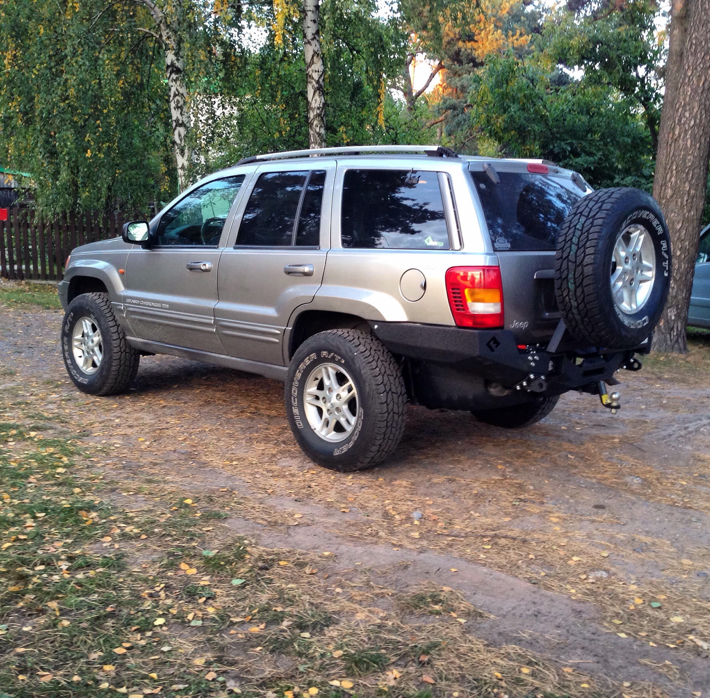 MetalPasja backfire rear bumper jeep wj