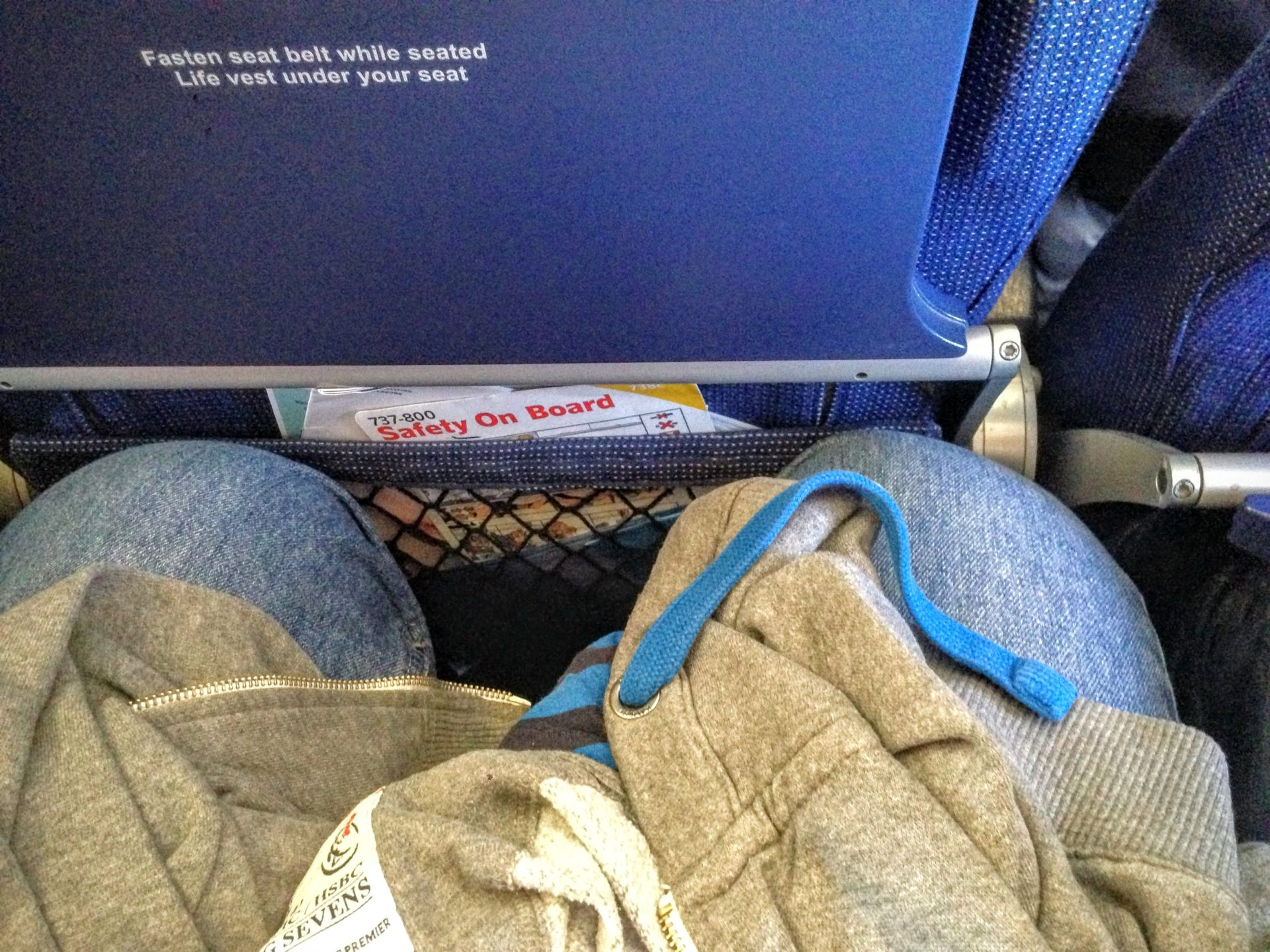 Tight legspace on lufhansa flight