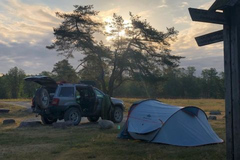 Lithuania Overlanding camp second day