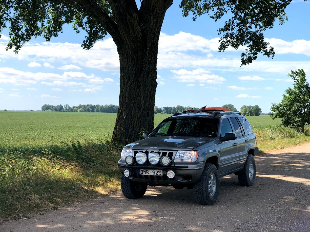 Lithuania Overlanding Jeep