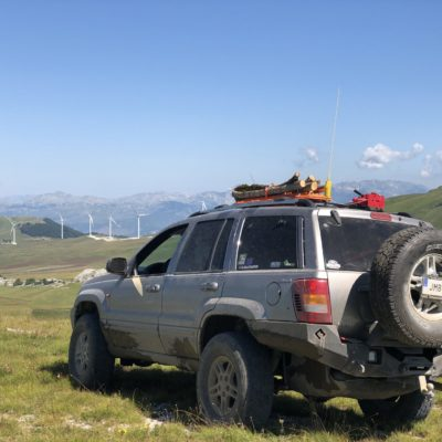 Montenegro Highlands Overlanding Jeep WJ
