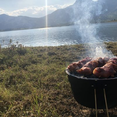Rama Lake Camping in Bosnia & Herzegovina